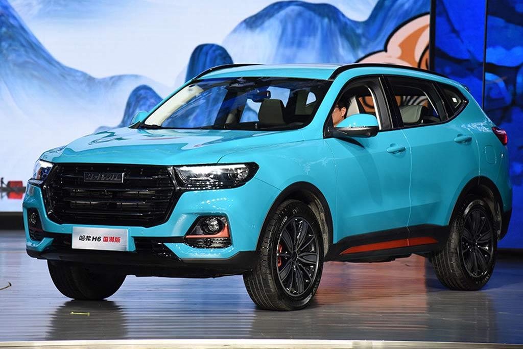 Haval H6 2021: китайцы обновили кроссовер второго поколения
