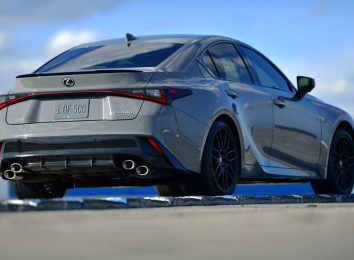Lexus IS 500 F Sport Launch Edition