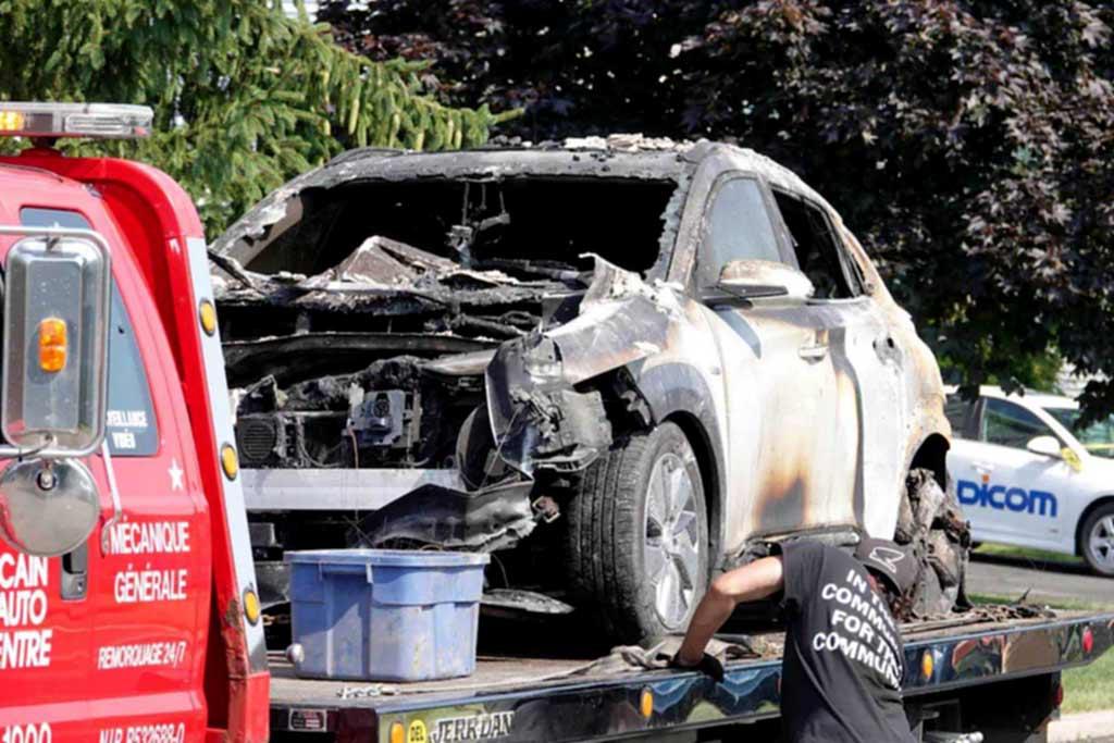 Hyundai возложил вину за возгорание электромобилей на производителя батарей