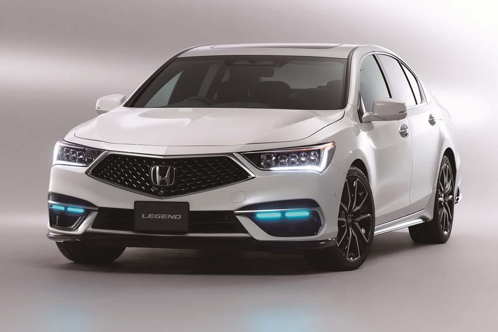 Самая дорогая Honda: первая серийная модель с автопилотом третьего уровня