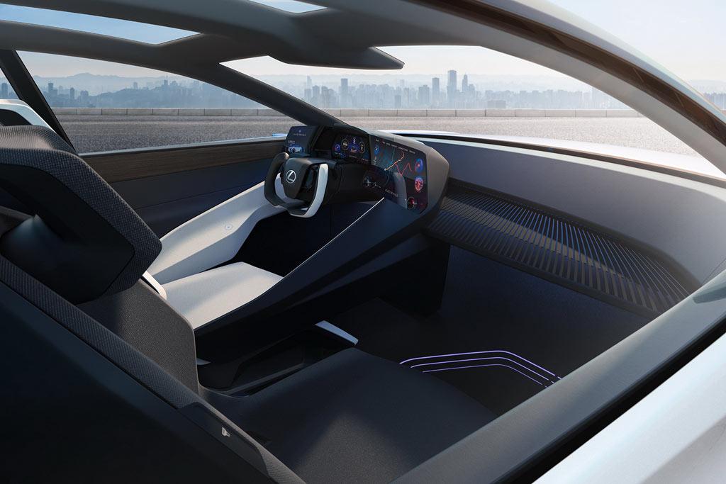 Японцы представили 544-сильный концепт Lexus LF-Z: разгон до сотни за 3,0 сек