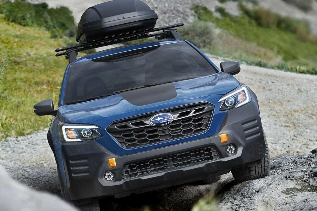 Вседорожный Subaru Outback Wilderness: обвес и доработанная подвеска