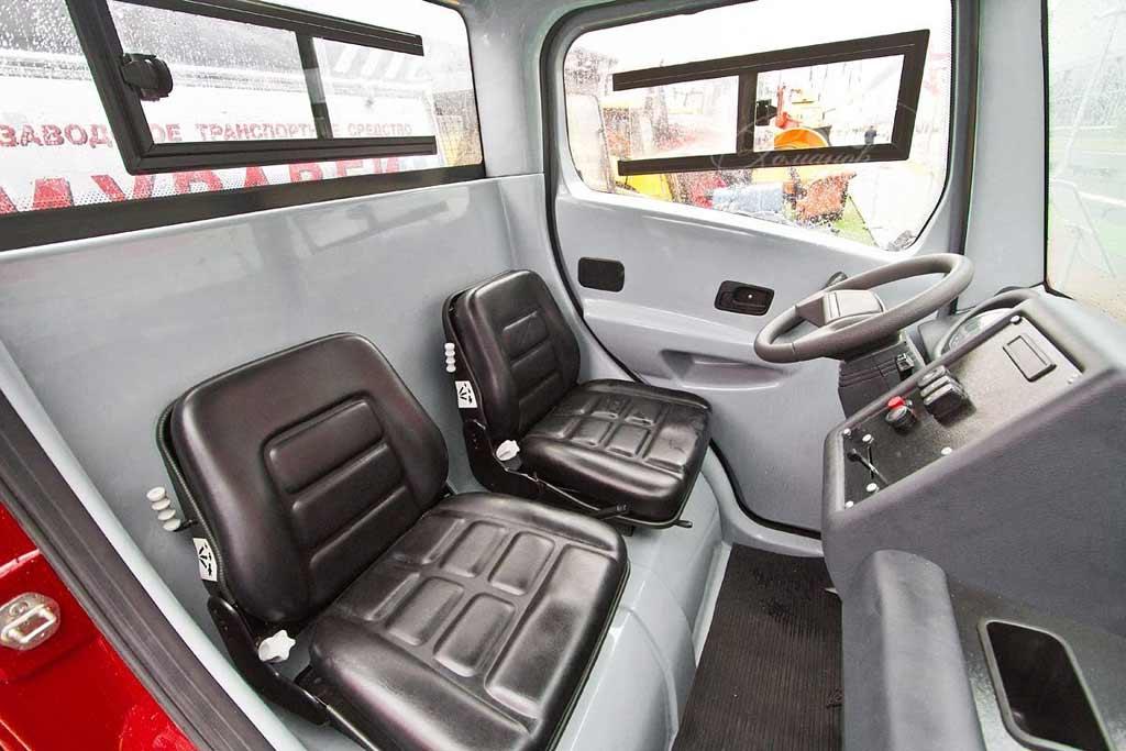 Полицейский «Муравей»: электрический фургончик для стражей порядка