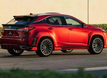 Lexus RX V8