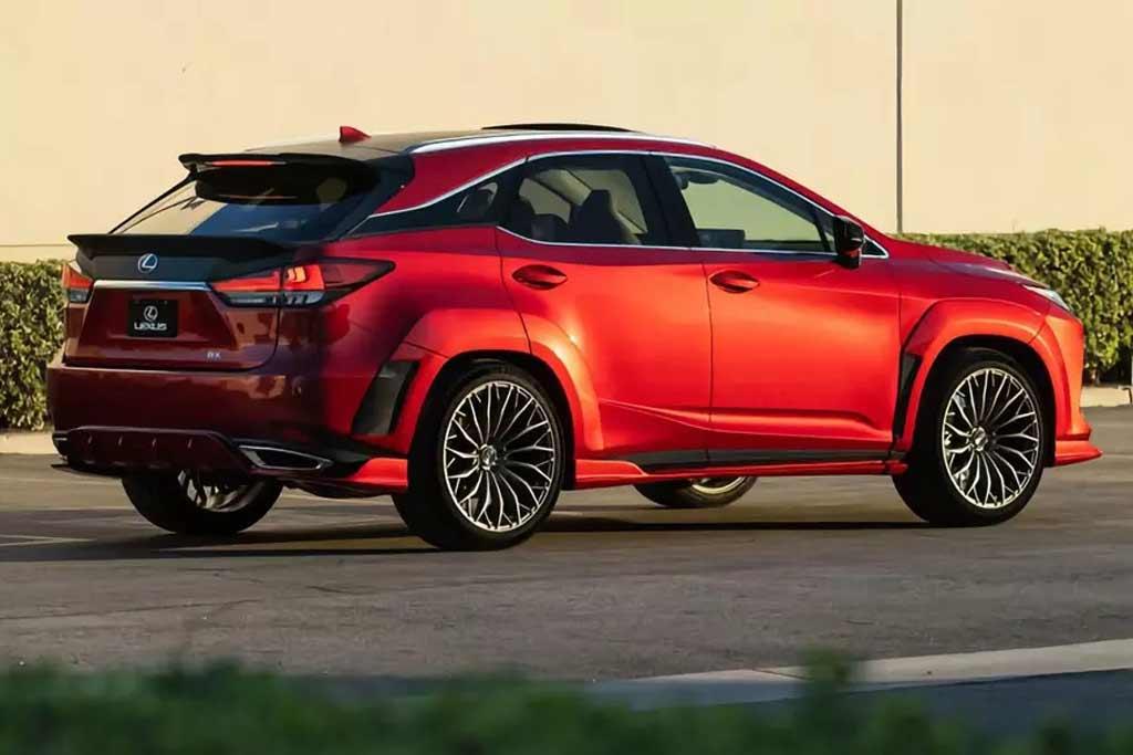 Семейный кроссовер Lexus RX оснастили мотором V8 от «заряженного седана GS F