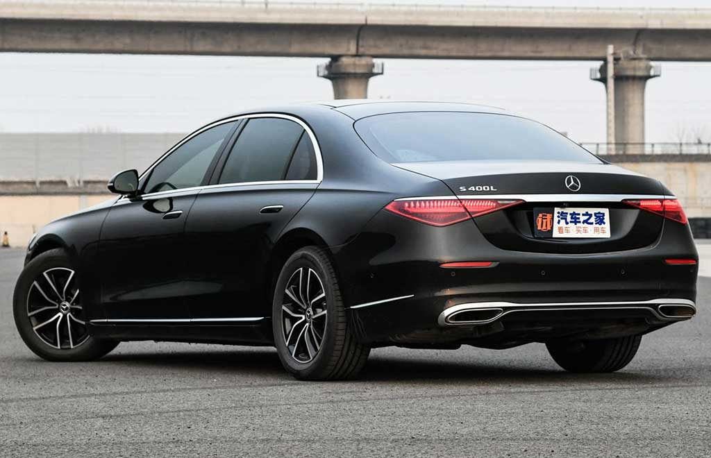 Mercedes S-Class W223 получил базовое бензиновое исполнение S 400 L