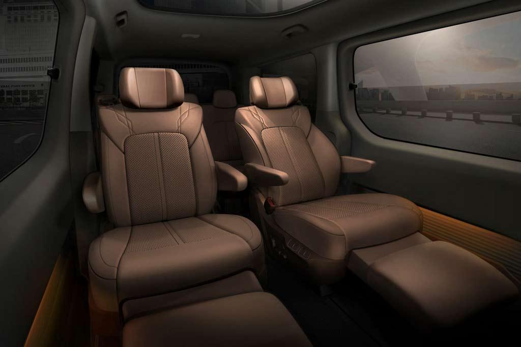 Новый минивэн Hyundai Staria: несколько вариантов компоновки и богатое оснащение