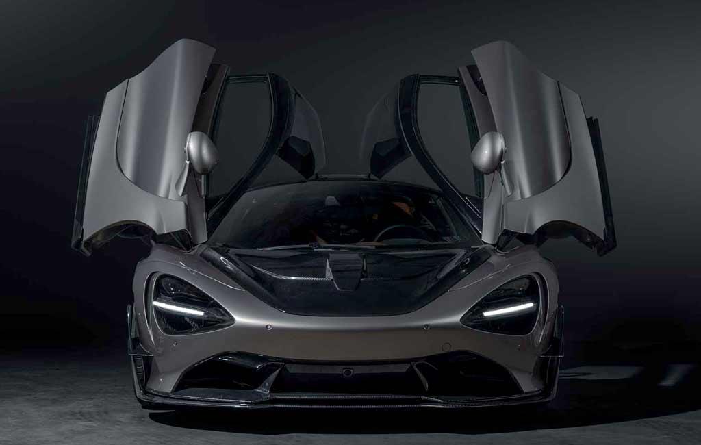 900-сильный McLaren 720S с широкофюзеляжным обвесом от SWAE