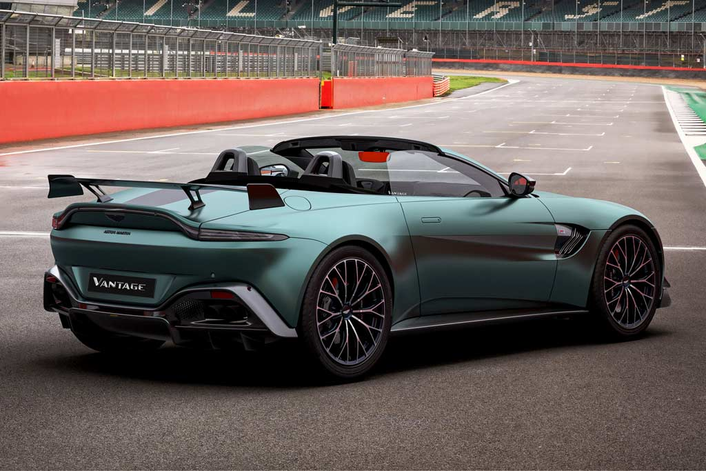 Aston Martin Vantage F1 Edition: дорожная версия автомобиля безопасности Формулы-1