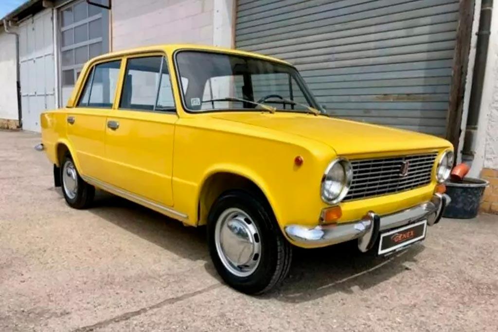 В Германии продают экспортный вариант ВАЗ-2101 за 1,4 млн рублей