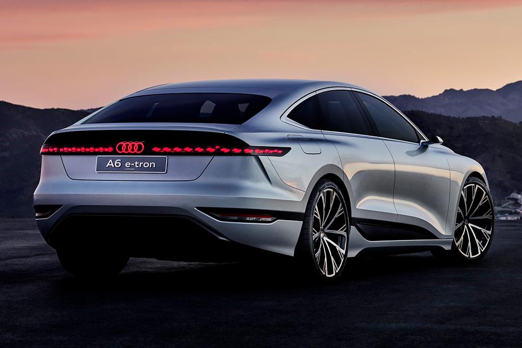 Audi A6 e-tron Concept: представлен предвестник электрического A6