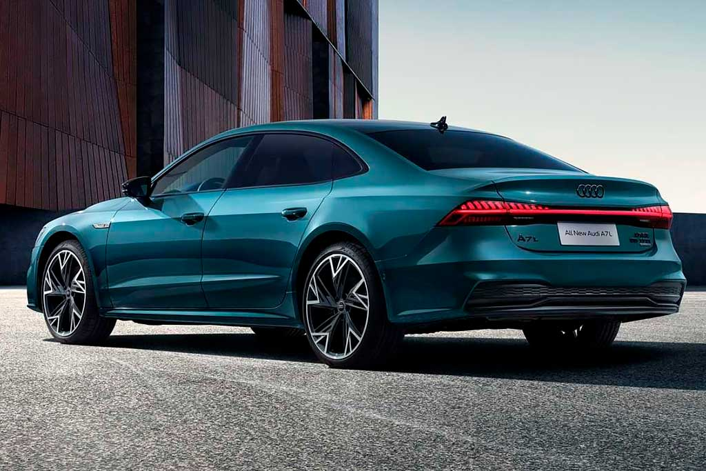 В Китае представлен длиннобазный седан Audi A7 L