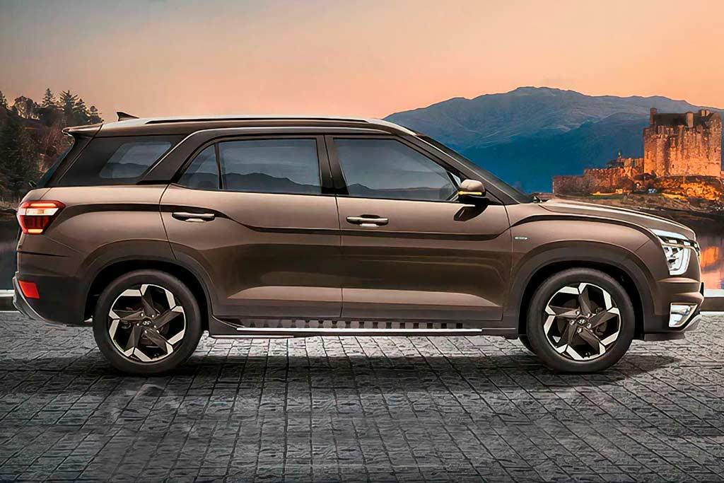 Hyundai Alcazar: подросший вариант Креты с третьим рядом сидений