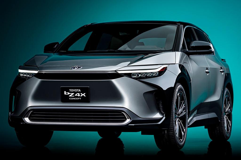 Toyota bZ4X Concept: предвестник грядущего электрического кроссовера