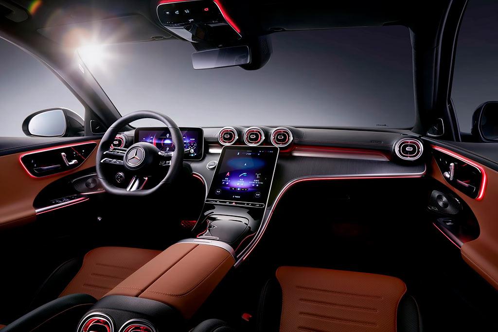 Для Китая подготовили длиннобазный вариант седана Mercedes-Benz C-Class