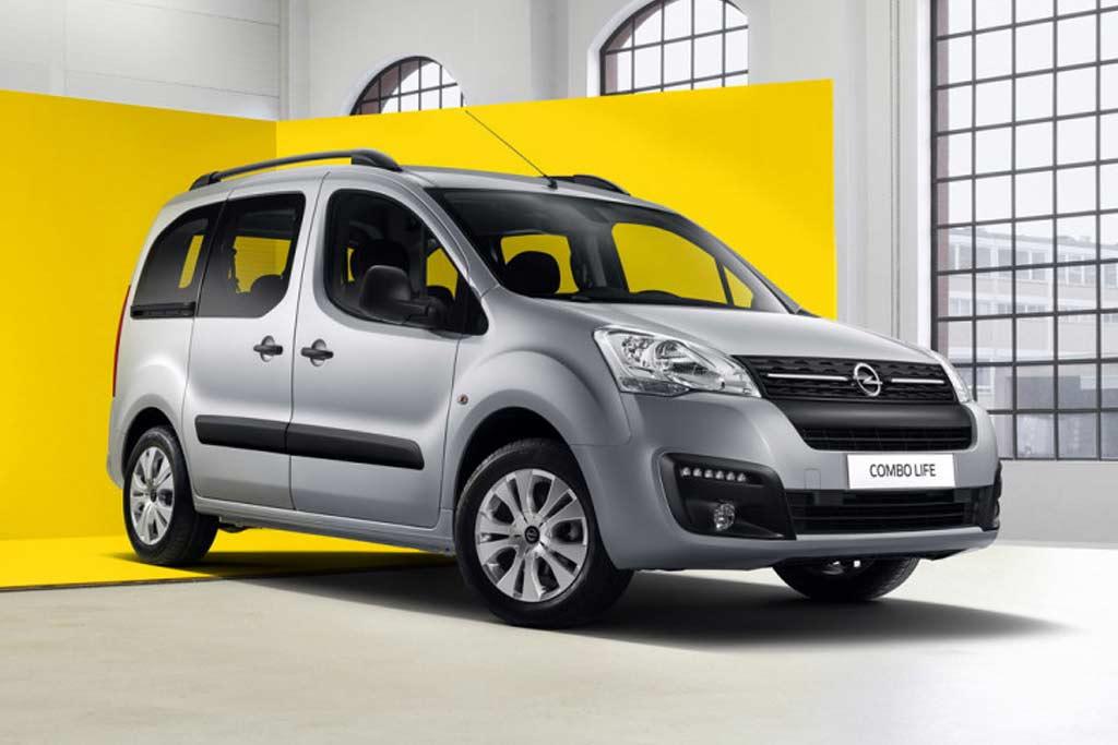 В России появился еще один Opel: стартовали продажи модели Combo Life