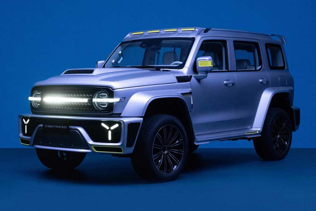 Great Wall представила внедорожный бренд Tank и шоу-кар Cybertank 300