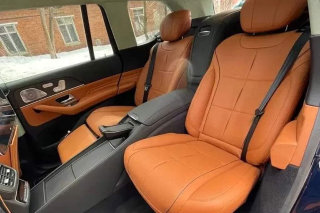 Для желающих сэкономить 8 млн: новый Mercedes GLS конвертировали в Майбах