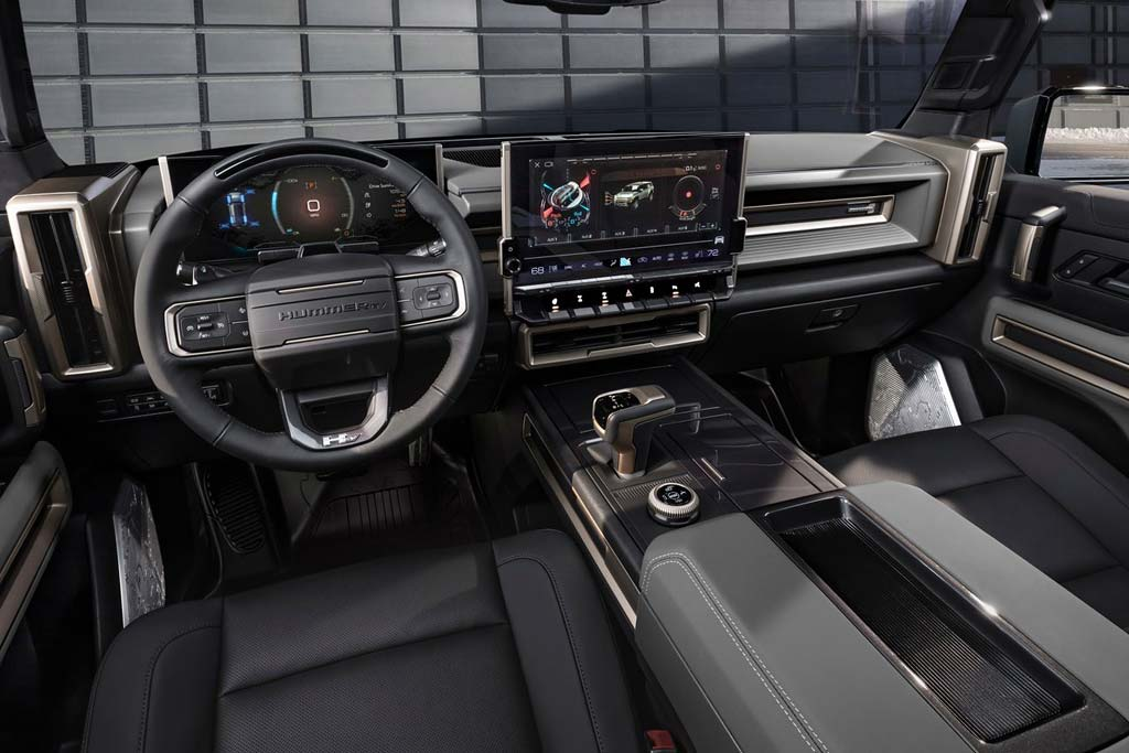 GMC Hummer EV SUV: электрический внедорожник на базе пикапа