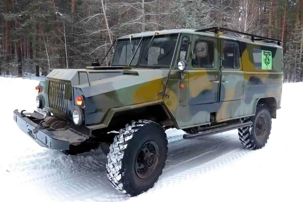 Внедорожник дешевле 1 млн рублей: самоделка на базе ГАЗ-66