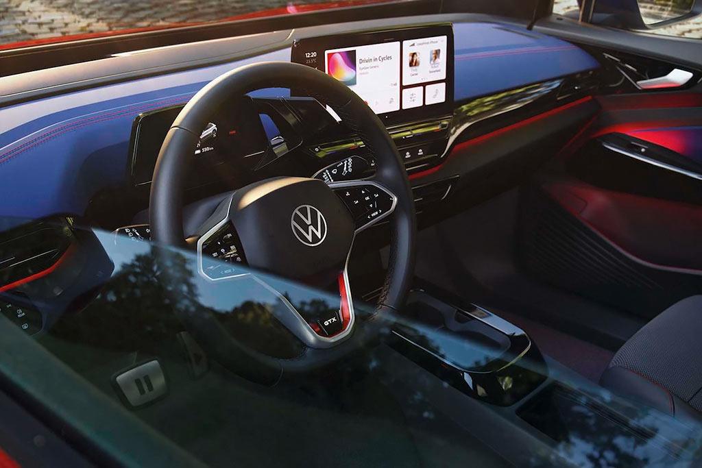 «Подогретый» электрокар Volkswagen ID.4 GTX: теперь с полным приводом