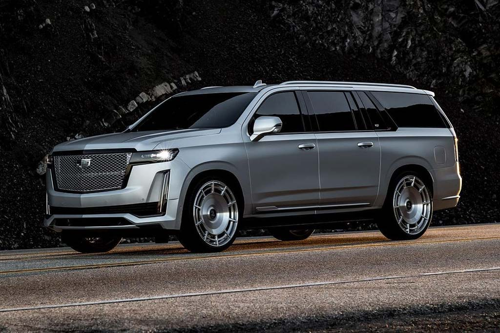 Cadillac Escalade KK Silver
