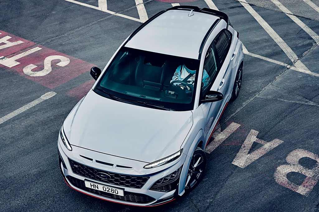 Hyundai Kona N: «горячий» кроссовер с движком на 280 «лошадок»