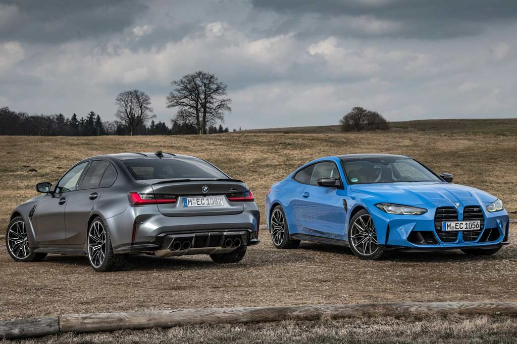 Озвучены российские цены на полноприводные версии новых BMW M3 и M4