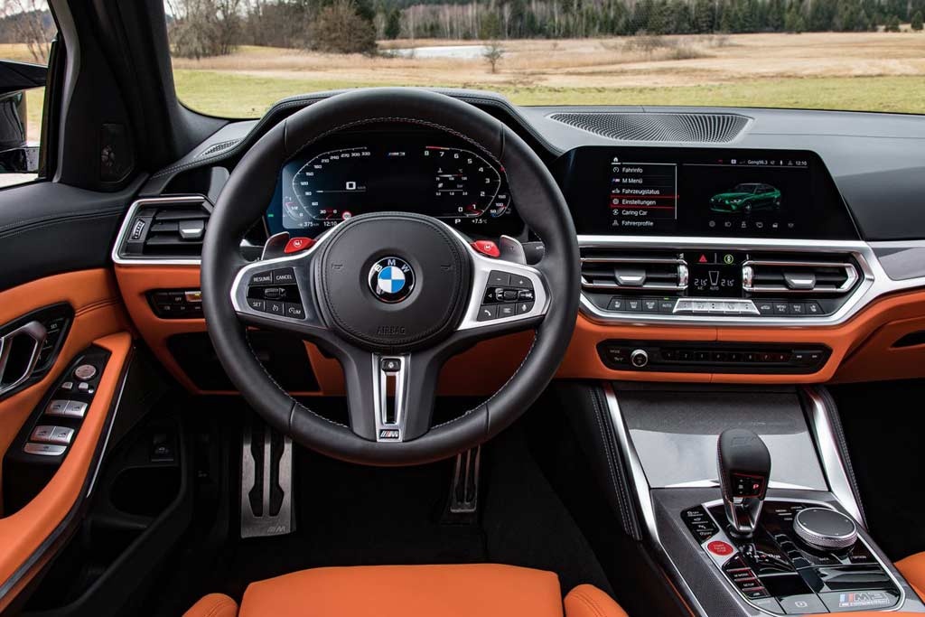 Полноприводные BMW M3 и M4