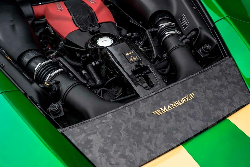 Ferrari F8 Tributo от Mansory: измененная внешность и еще больше мощности