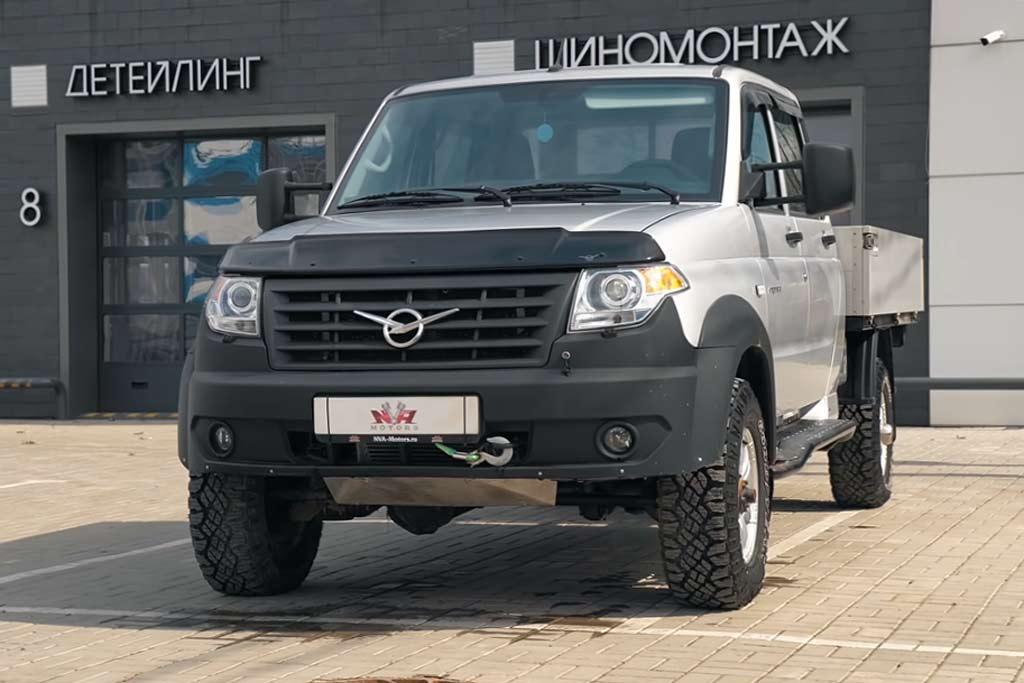 УАЗ «Профи» оснастили дизельным мотором от BMW и раздаткой от Cayenne
