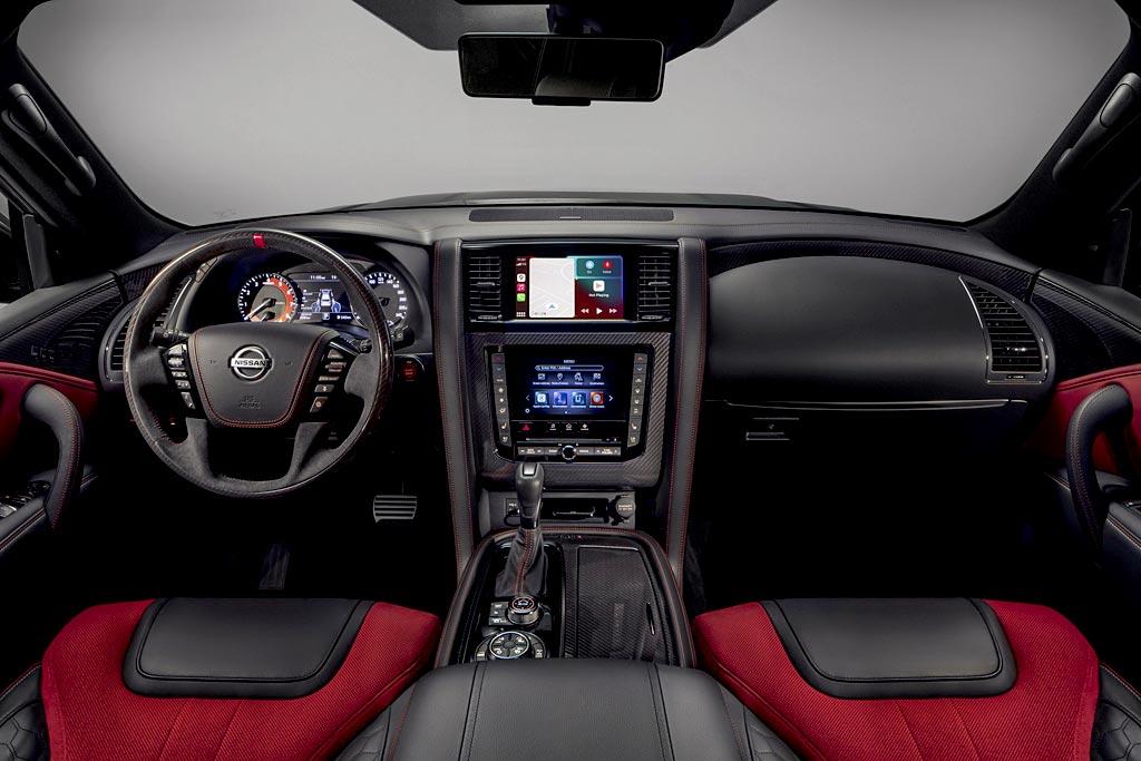 Nissan Patrol Nismo 2021: грозный на вид, но со стандартной «начинкой»
