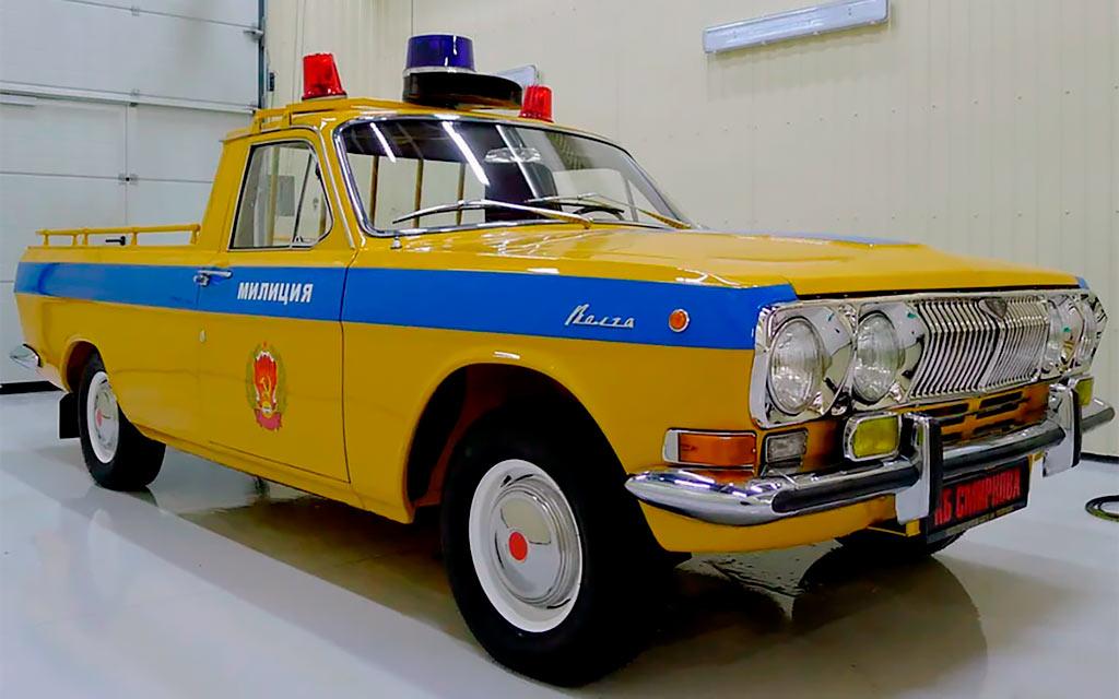 Пикап советской милиции: необычную версию ГАЗ-24 продают за 5,1 млн