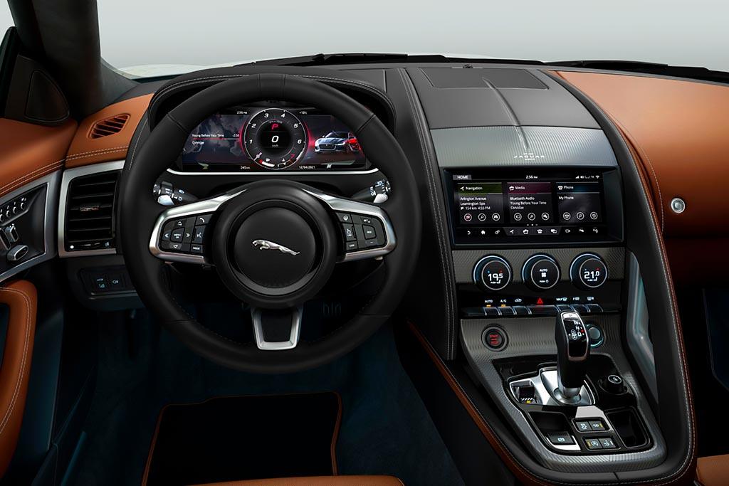 Jaguar F-Type в исполнении R-Dynamic Black: скоро появится в России