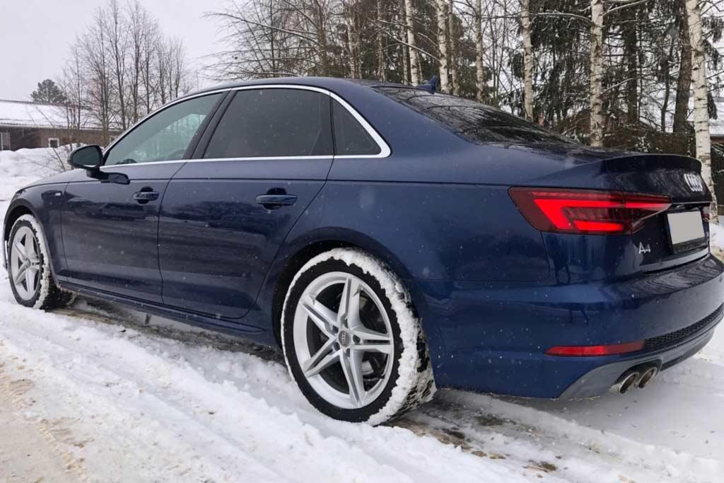 В любую погоду можно ехать в левом ряду 150 км/ч и держать руль двумя пальцами