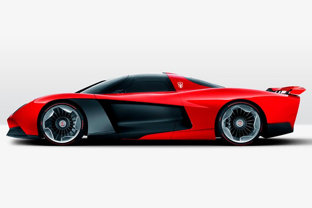 Бренд Silk-FAW представил товарный 1 400-сильный гиперкар Hongqi S9
