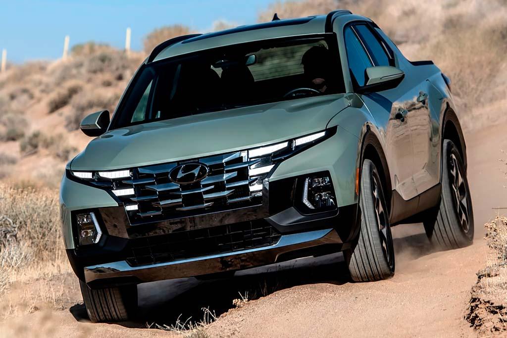 Hyundai Santa Cruz: первый серийный пикап от корейского производителя