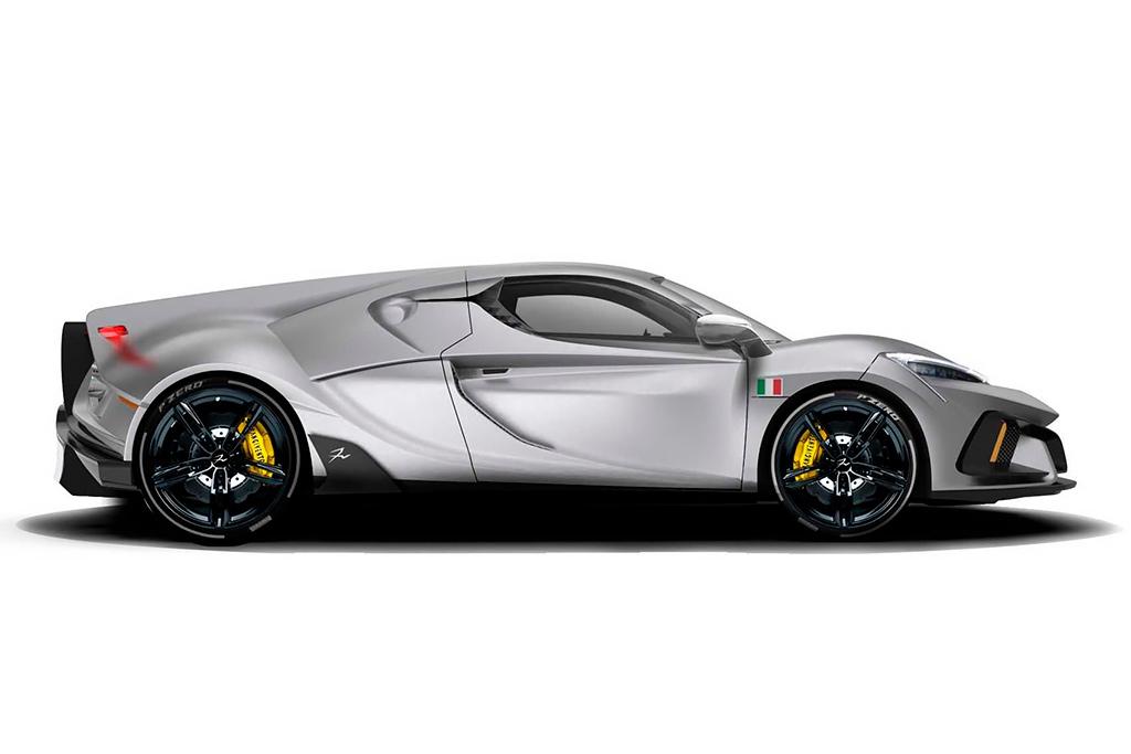 Итальянцы представили агрессивный суперкар FV Frangivento Sorpasso