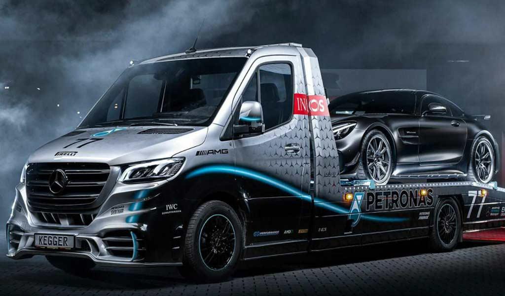 Несбыточная мечта эвакуаторщика: Mercedes Sprinter Petronas Edition