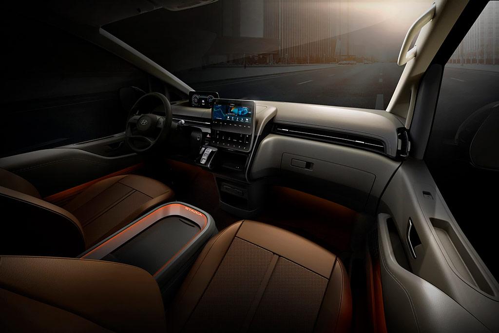 Серийный Hyundai Staria: новый минивэн от корейского автопроизводителя