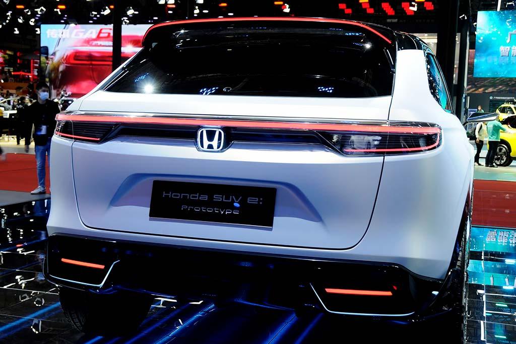 Honda SUV e:Prototype: электрический вариант кроссовера HR-V