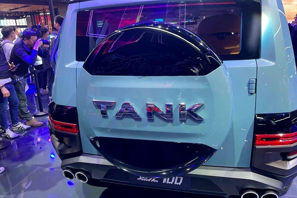 Внедорожный бренд компании Great Wall показал модели Tank 700 и Tank 800