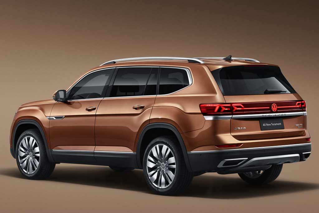Рестайлинг VW Teramont для Китая: большое количество изменений
