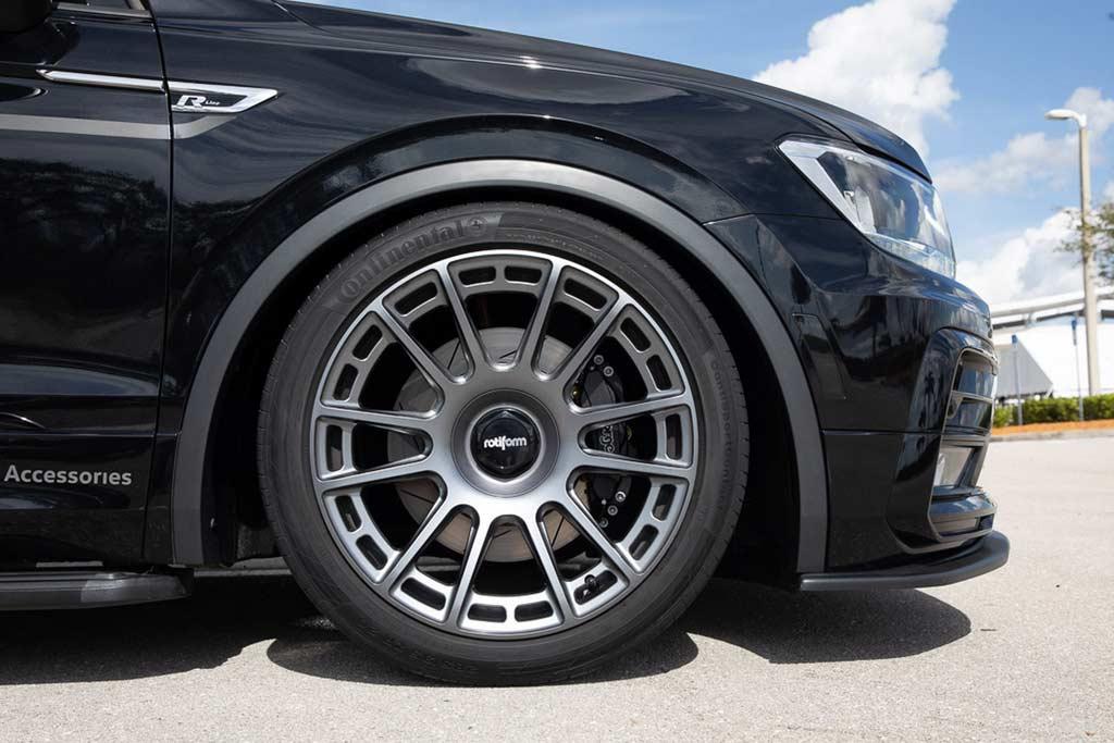 VW Tiguan SE R-Line Black RiNo: вариант для заядлых велосипедистов