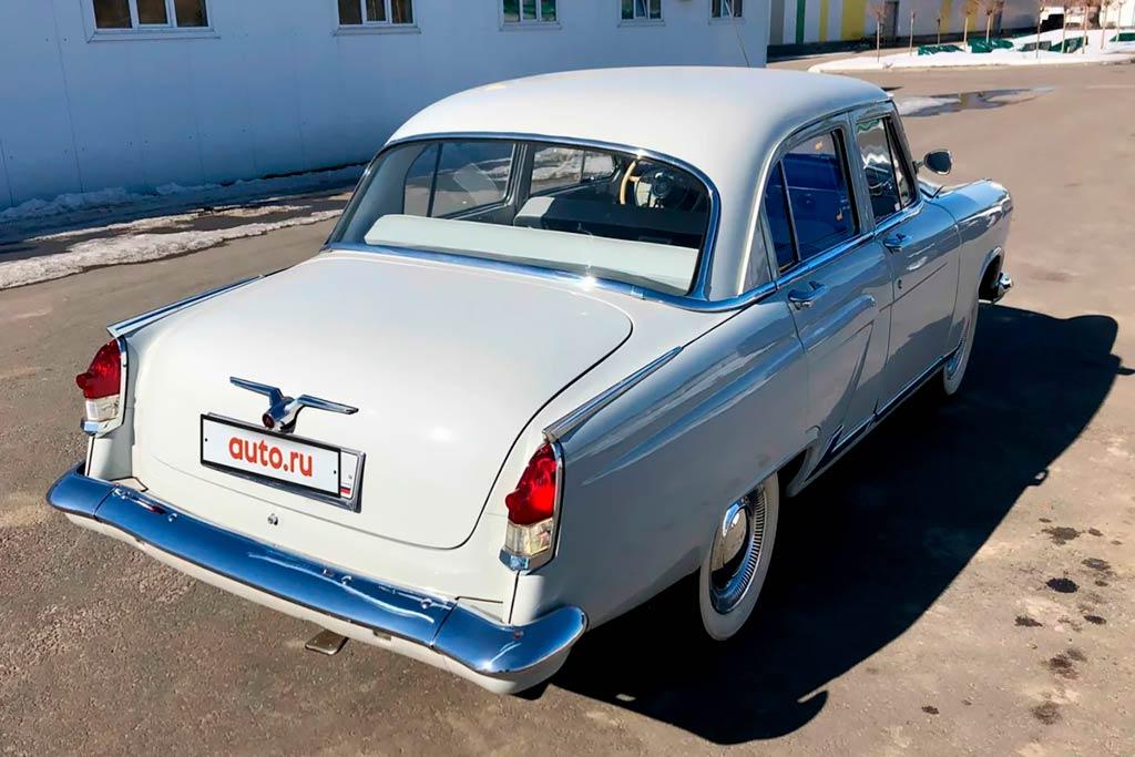 Красавица «Волга»: в продаже идеальный ГАЗ-21 после реставрации