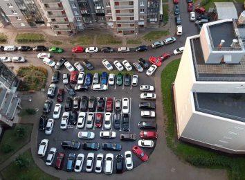 Парковка во дворах