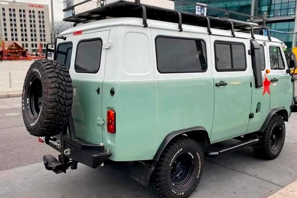 В Германии продают UAZ за 3,6 млн: столько просят за экспедиционную «Буханку»