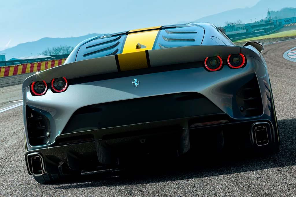 Ferrari 812 Competizione: экстремальный вариант модели 812 Superfast