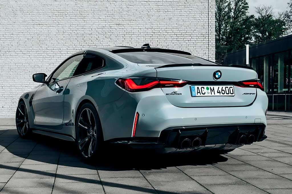 Тюнеры из ателье AC Schnitzer немного поколдовали над новой BMW M4 (G82)