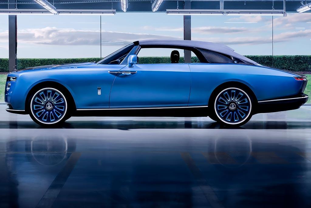 Rolls-Royce Boat Tail: эксклюзивная модель для избранных клиентов марки